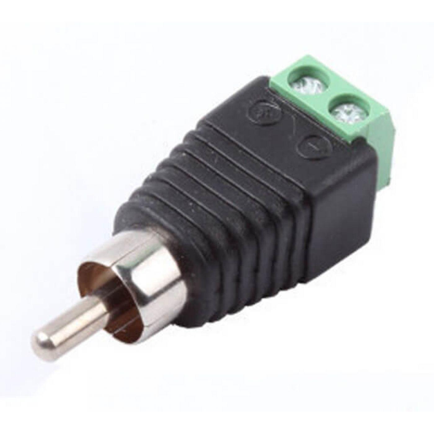 Разъем RCA для передачи звука от микрофона к видеорегистратору