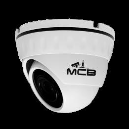 Купольная IP камера, 2 Мп (1920*1080), ИК-подсветка 20 м, Звук, Обзор 110°, POE