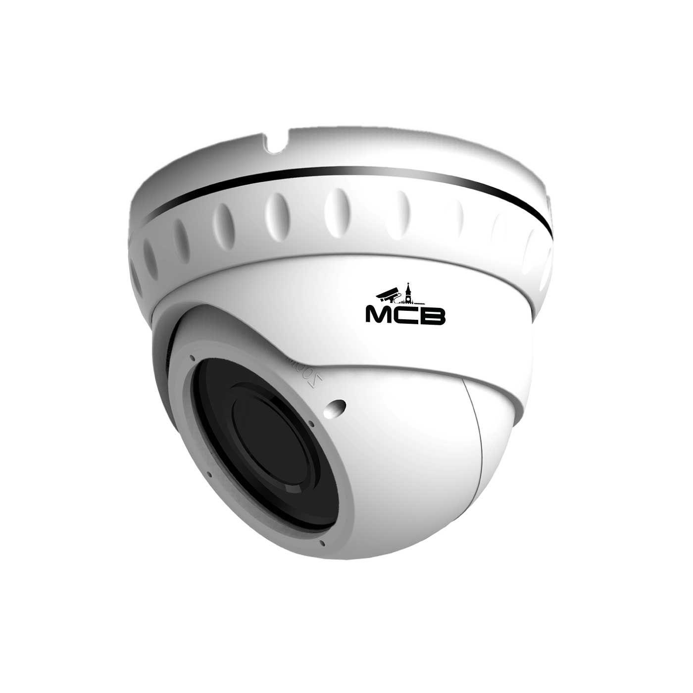 Готовый комплект IP видеонаблюдения на 2 камеры 5 Мп со звуком