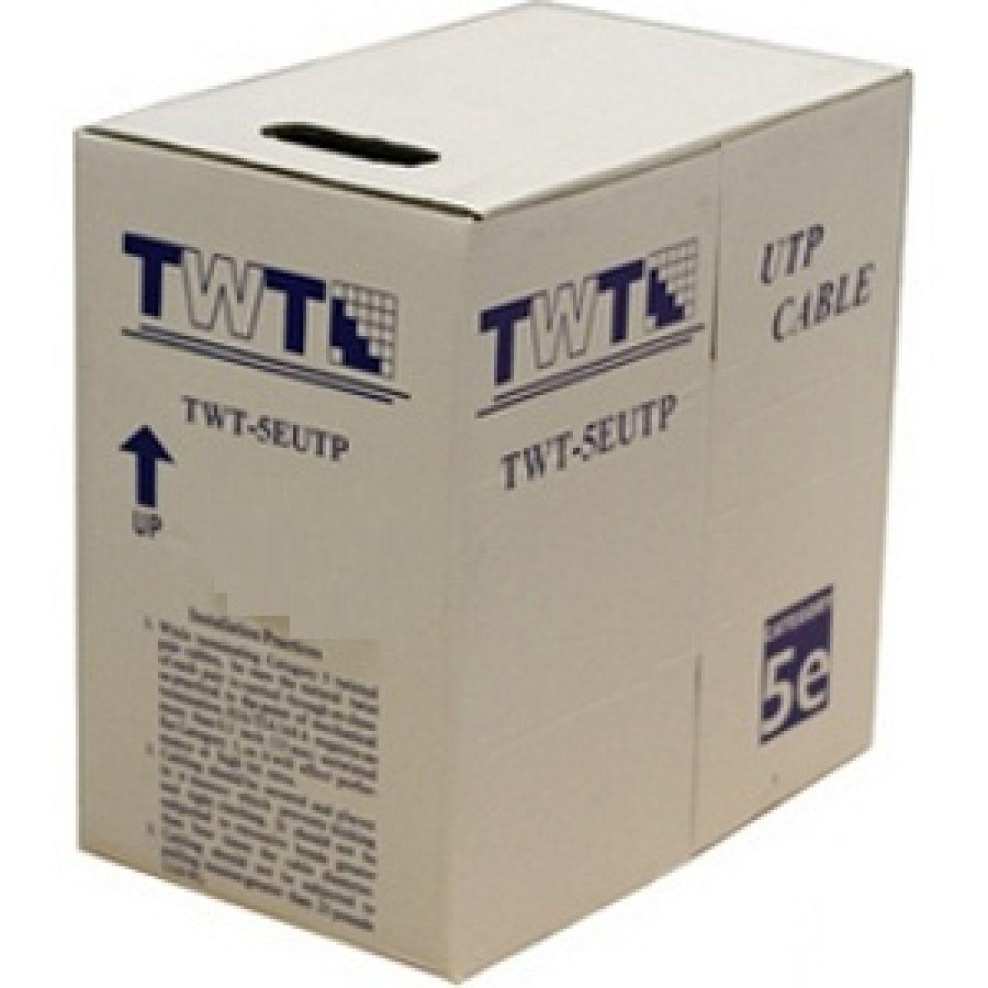 TWT TWT-5E UTP-LSZH витая пара 4х2х24AWG (305 м)