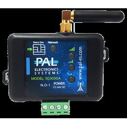 GSM модуль для управления шлагбаумом / воротами на 50 номеров