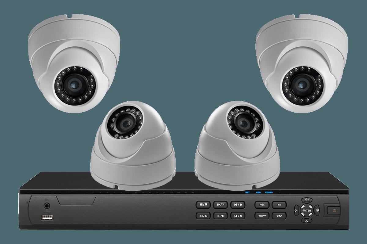 Установка IP-систем видеонаблюдения