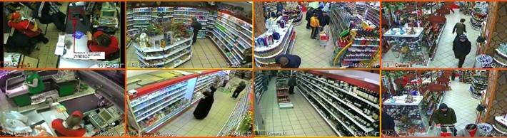 Установка видеонаблюдения в магазинах и супермаркетах