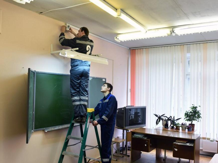 Реализация видеоконтроля на территории учебного учреждения